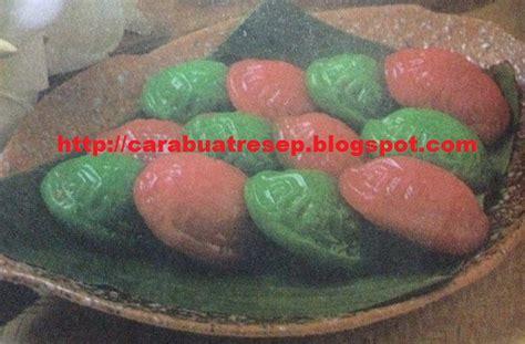 resep aneka kue basah tradisional kukus tepung beras