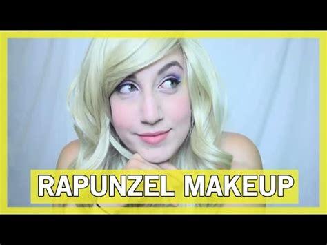 rapunzel disney collaborazione makeup tutorial rapunzel makeup tutorial thingamavlogs