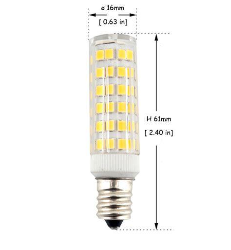 Chandelier Bulb Base Size 6w E12 Candelabra Led Bulbs 50w Equivalent T3 T4 Candelabra E12 Base Bulb For Ceiling Fan