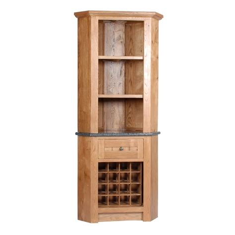 corner wine rack cabinet wine racks henbury corner unit with 1 wine rack