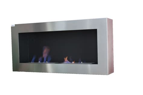 Large Bioethanol Fireplace by Large Steel Wall Biofireplace Bioethanol Fireplace Co Uk