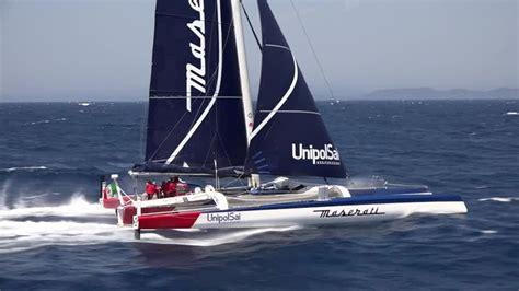 maserati multi70 headed to rolex middle sea race italia