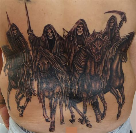 four horsemen tattoo designs the four horsemen of the apocalypse search