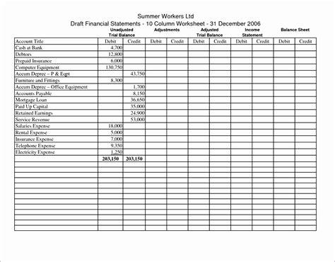 10 Excel Ledger Template Free Exceltemplates Exceltemplates Columnar Pad Template For Excel