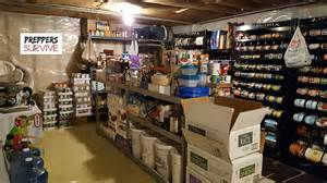 Prepper Pantry by An Peek Inside A Prepper S Pantry Preppers