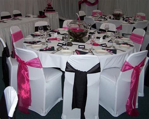 Pink And Black Wedding Ideas by Wedding Themes Wedding Style Pink And Black Wedding