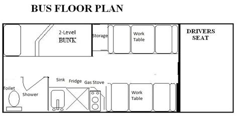 school bus rv floor plans bus layout ta detroit skoolie