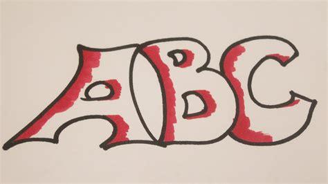 imagenes de letras bonitas para dibujar con ellas como dibujar letras bonitas youtube