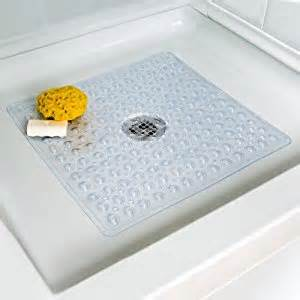 deluxe square shower mat non slip bathtub mats