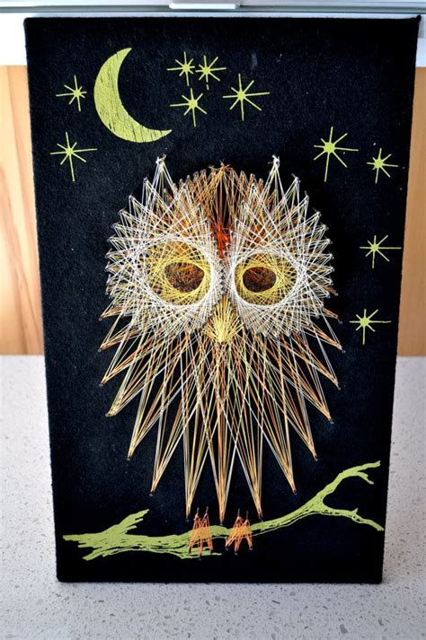 Owl String Pattern - 106 best images about owl stringart uil draadkunst on