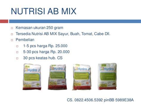 Nutrisi Hidroponik Ab Mix Surabaya 0822 4506 5392 telkomsel nutrisi hidroponik ab mix