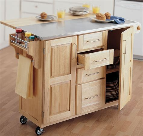 Kitchen Island Or Cart Unique Kitchen Carts Islands Home Design And Decor Reviews
