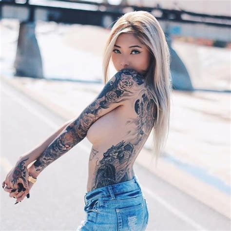 tattoo girl in fast and furious 7 getting fast and furious with the bubbly cassie v tattoodo