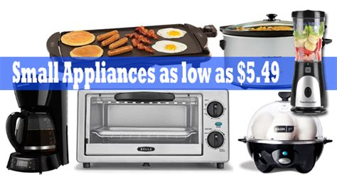 small kitchen appliances on sale huge list of kitchen appliances as low as 5 49 shipped