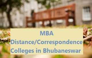 Mba Distance Education Colleges by Top Mba Distance Correspondence Colleges In Bhubaneswar