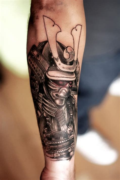 good forearm tattoos 51 awesome samurai tattoos