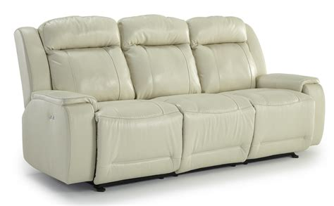 Best Power Reclining Sofa Best Home Furnishings Hardisty Casual Power Reclining Sofa With Memory Foam Cushions Value