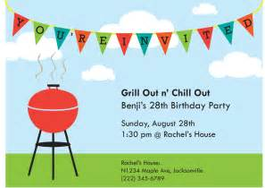 grill out n chill out invitation rachel wisth s design