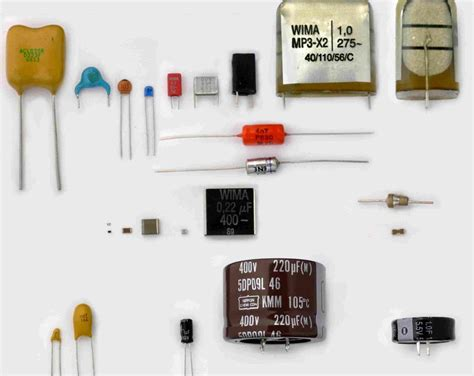 que es capacitor y diodo capacitor te1