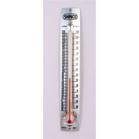 room thermometers room thermometer with v shape metal back celsius fahrenheit american scientific stemfinity