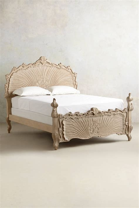 anthropologie bed frame high end beds for a long winter s nap