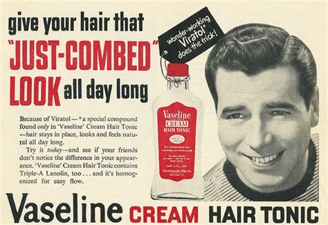 men hair cream from the 60s what is hair tonic how do you use it sharpologist