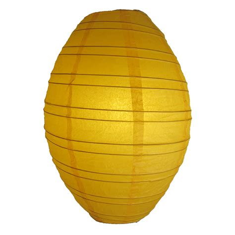 Paper Lanterns - 10 inch yellow kawaii paper lantern