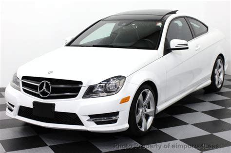2014 Mercedes C350 Coupe by 2014 Used Mercedes C Class Certified C350 4matic