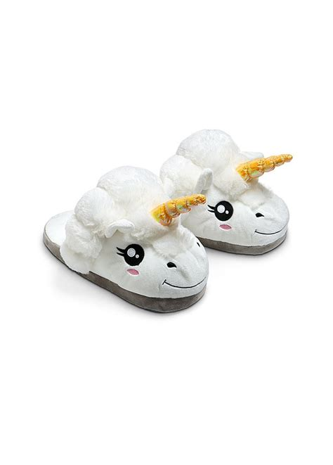 unicorn slippers uk unicorn slippers attitude clothing