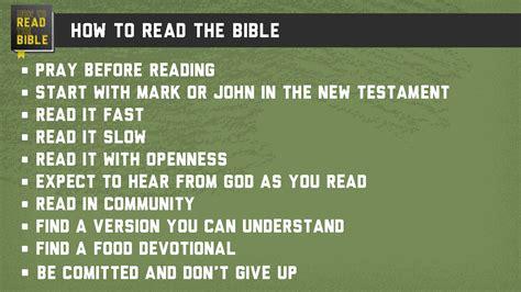 How To Read The Bible how to read the bible cornerstone friends church