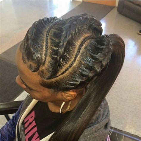 human hair ponytail with goddess braid 121 best images about goddess braids on pinterest ghana