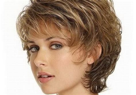haircuts for curly thick hair women over 50 short wavy hairstyles women over 50