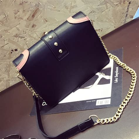 Tas Bag Selempang Wanita Warna Pink tas selempang wanita rivet style handbag sajswg79953