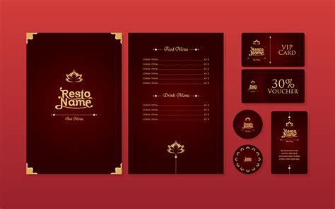 Luxury Thai Menu Restaurant Template Vector Download Free Vector Art Stock Graphics Images Thai Restaurant Menu Templates Free
