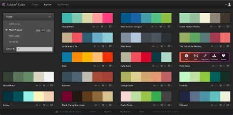 kuler color adobe kuler a brilliant iphone app for designers free app