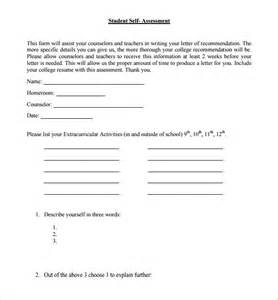self assessment template self assessment 9 free documents in pdf excel