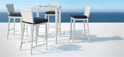 Bar And Bar Stools Set by Venice Outdoor Bar Stool Set Oceanweave Furniture Nz