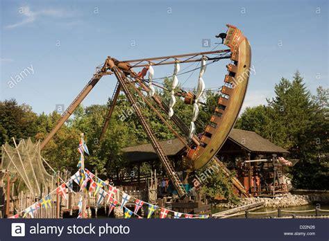 swing in deutschland rust germany swing boat at europa park rust stock