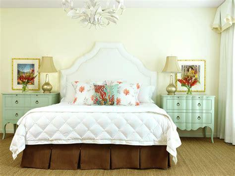 seafoam green and coral bedroom photos hgtv