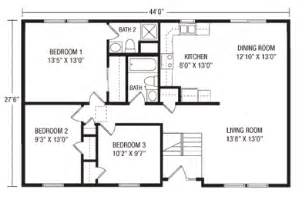 Raised Ranch Floor Plan by U And U Modular Homes Raised Ranch Floorplans