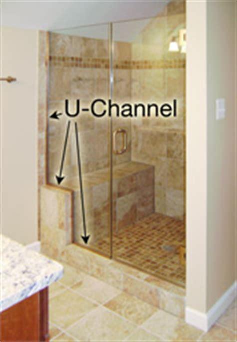 Shower Door U Channel Frameless Shower Hardware