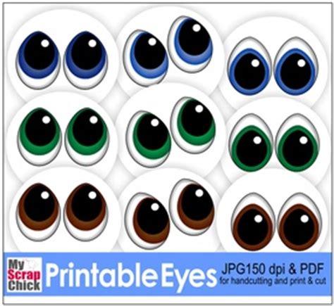 printable eyes for crafts free printable eyes click to enlarge svg pinterest