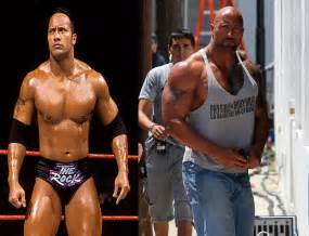 The rock before and after steroids dwayne johnson steroids jpg