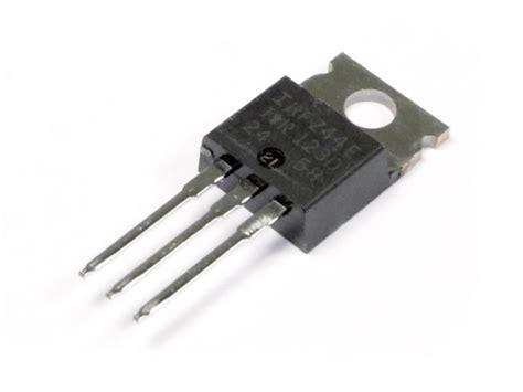 fet transistor resistance irfz44e n channel fet solarbotics