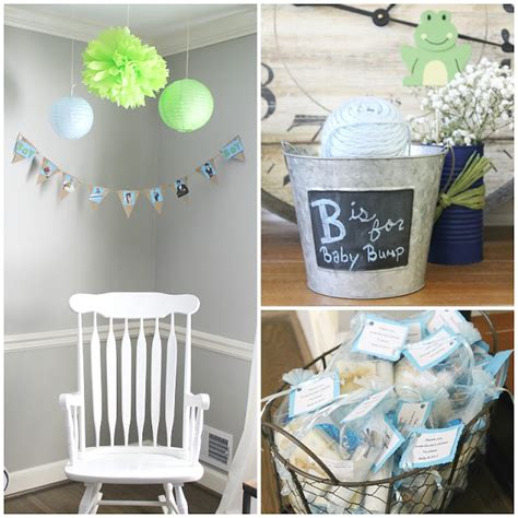 Puppy Baby Shower Theme by Frogs Snails And Puppy Tails Baby Shower The