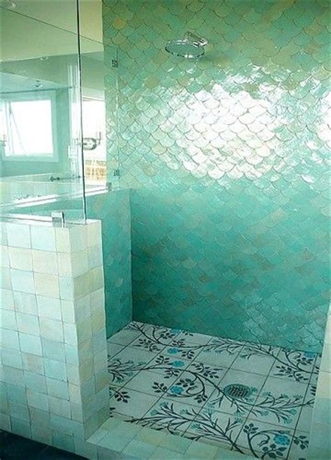 mermaid tile bathroom bathroom beach bathroom pinterest