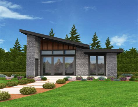 design house plans exclusive tiny modern house plan with alternate exteriors 85137ms architectural designs