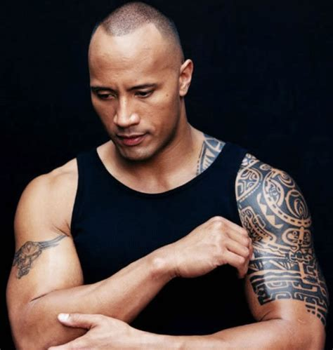 the rocks tattoo dwyane quot the rock quot johnson tattoos pictures images pics