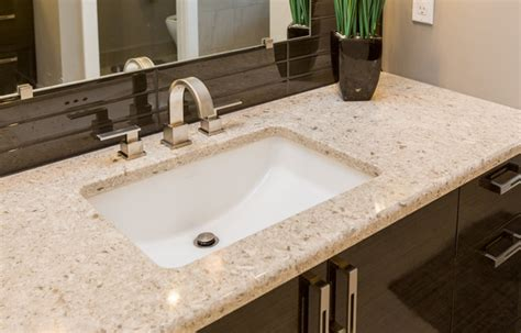 quartz vs granite bathroom countertops darlington bathroom traditional bathroom other by