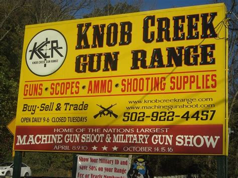 Knob Creek Range by Knob Creek Gun Range Guns Weapons Tactics